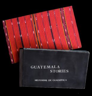 Guatemalan Stories book cover and case